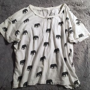 🐘 Elephant Crop Top